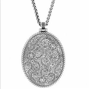 Brighton Alameda Locket Necklace NWT
